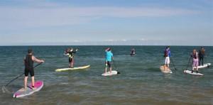 Llandudno on Paddle Boards