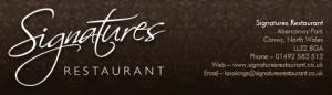Signatures Restaurant Wales
