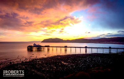 Photo-Llandudno-Pier-Sunrise