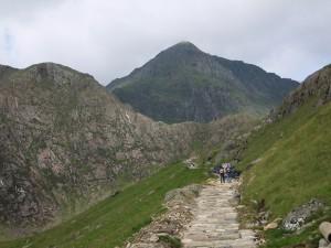 Walking up Snowdon Miners Track 3